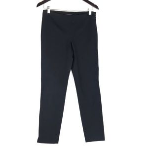 Theory Black Stretchy Skinny Leg Pants